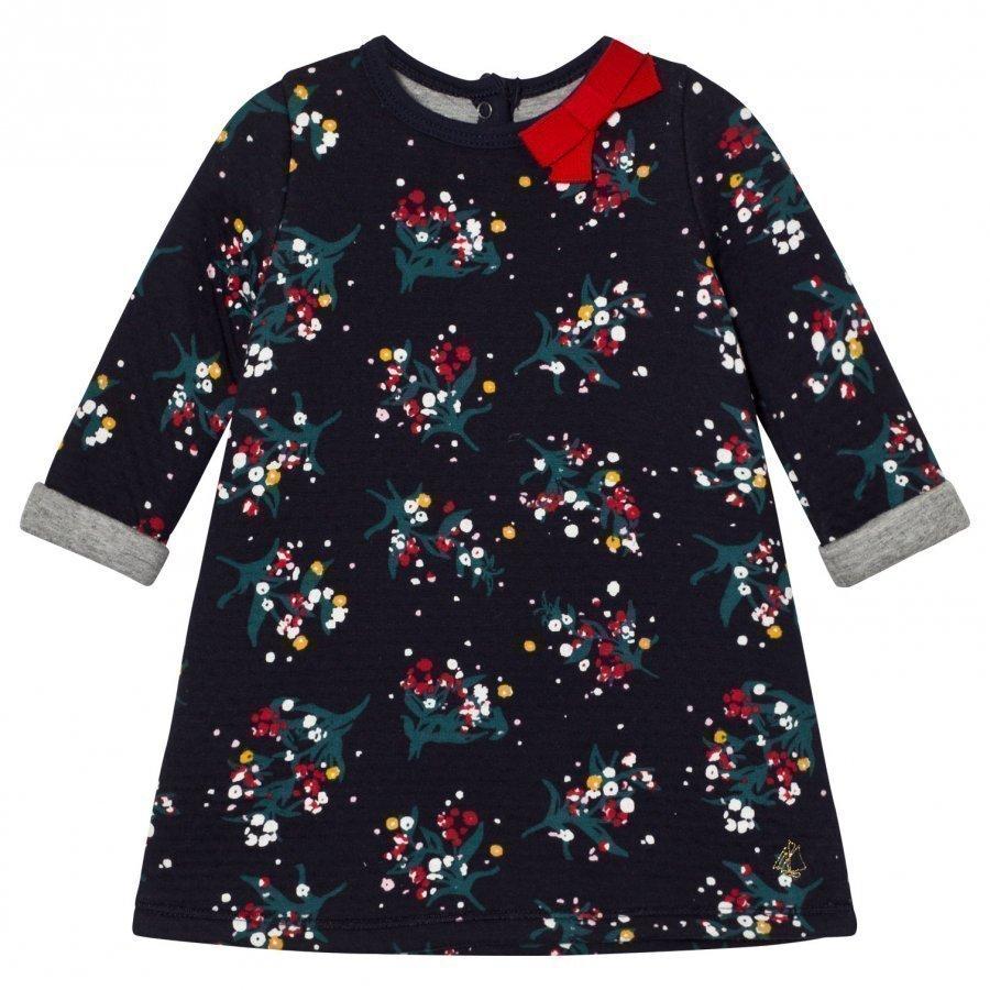 Petit Bateau Marine Flower Dress Mekko
