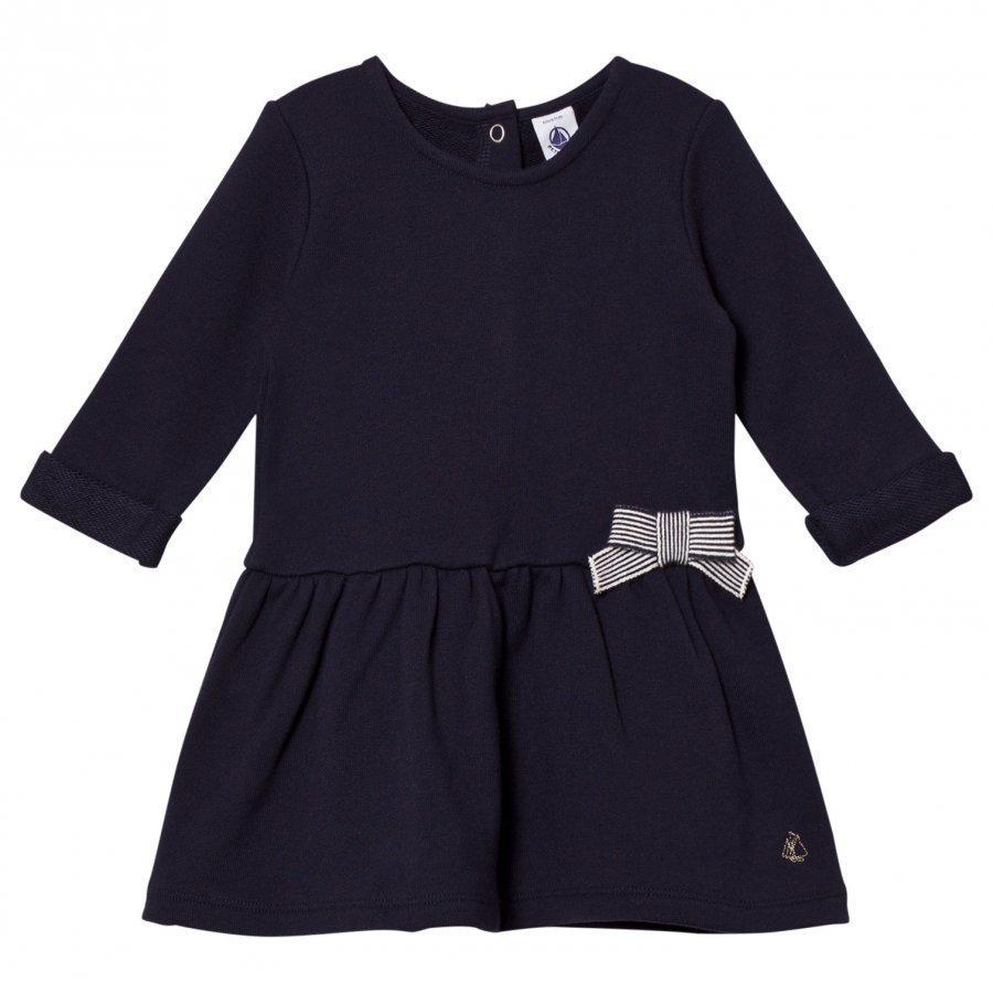 Petit Bateau Marine Jersey Dress Mekko