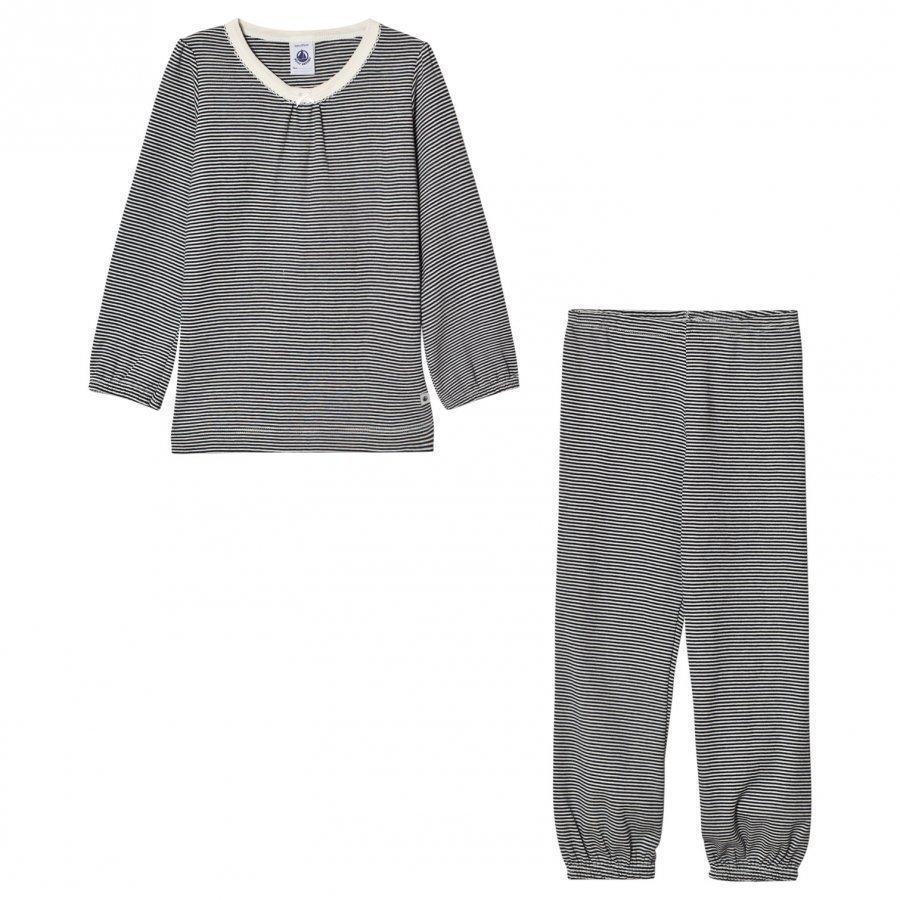 Petit Bateau Marine Stripe Pyjamas Yöpuku