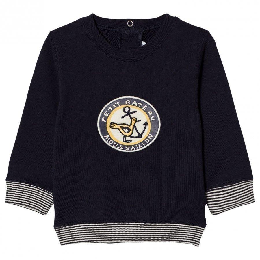 Petit Bateau Marine Sweatshirt Oloasun Paita