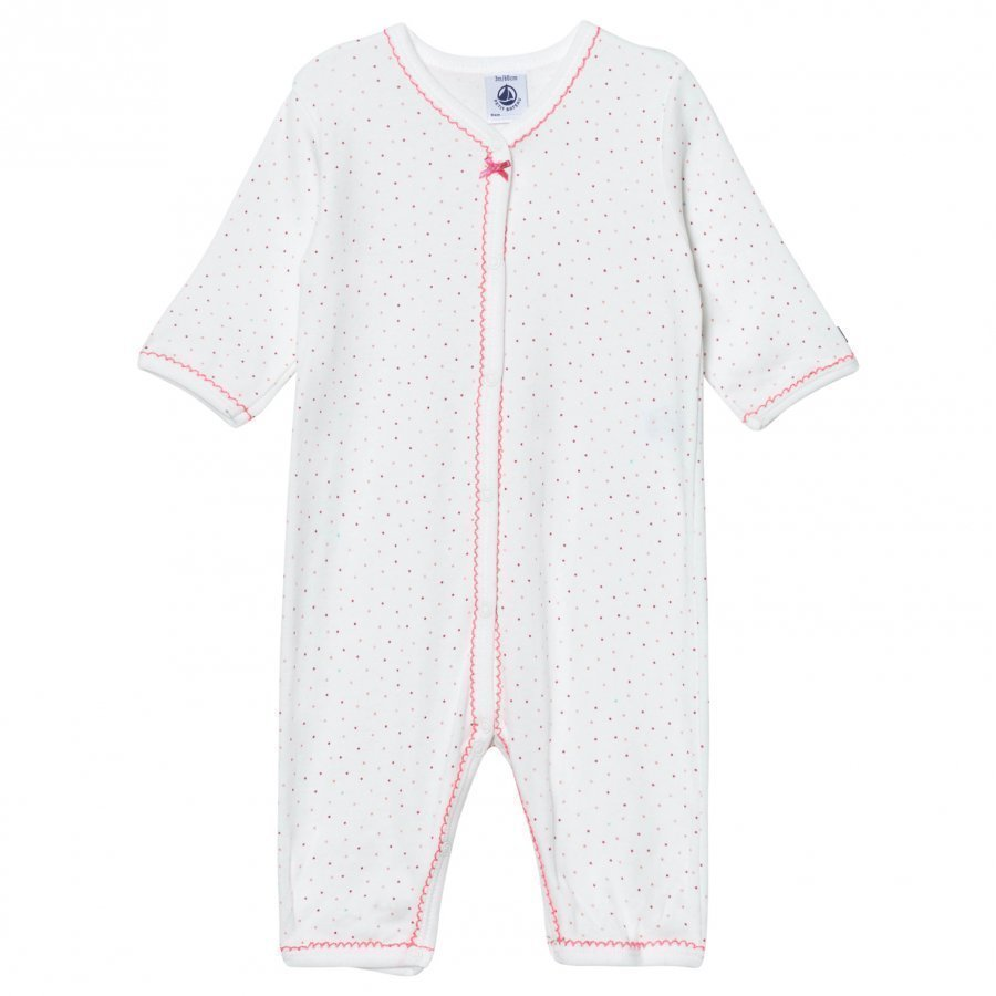 Petit Bateau Mini Polka Dot One-Piece Body