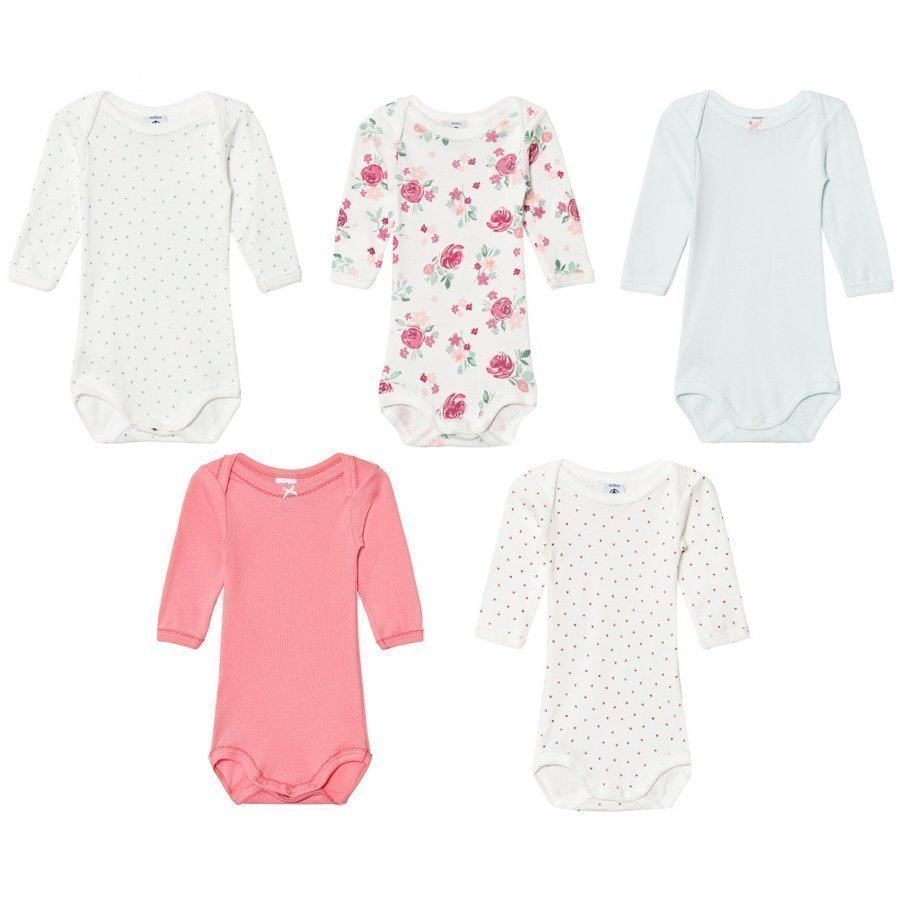 Petit Bateau Multi Pattern Bodies 5 Pack Body