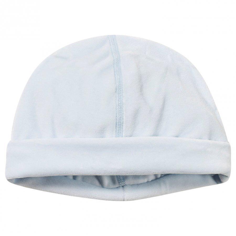 Petit Bateau Newborn Beanie Hat Blue Pipo