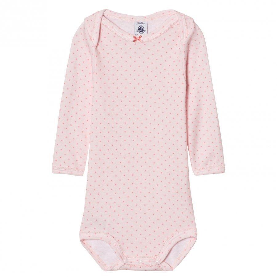 Petit Bateau Pink Dot Baby Body