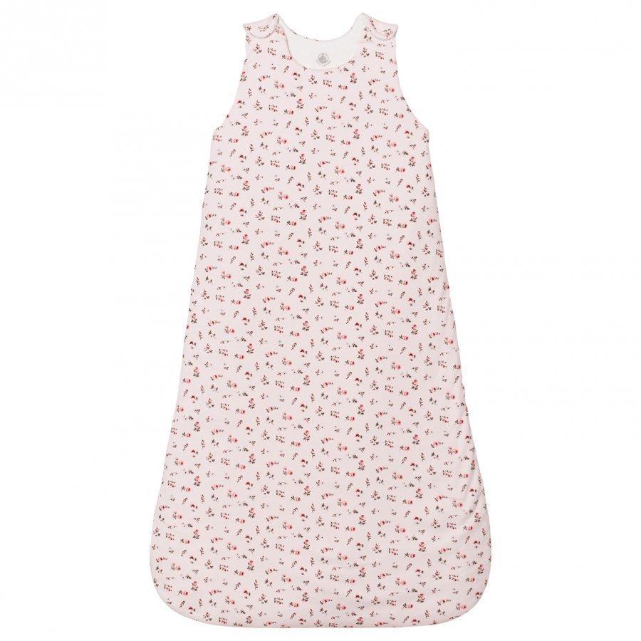 Petit Bateau Pink Floral Sleeping Bag Vauvan Makuupussi
