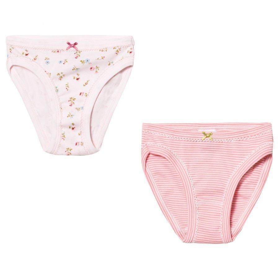 Petit Bateau Pink Panties 2 Pack Alushousut