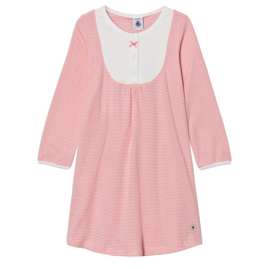 Petit Bateau Pink Stripe Nightdress Yöpaita