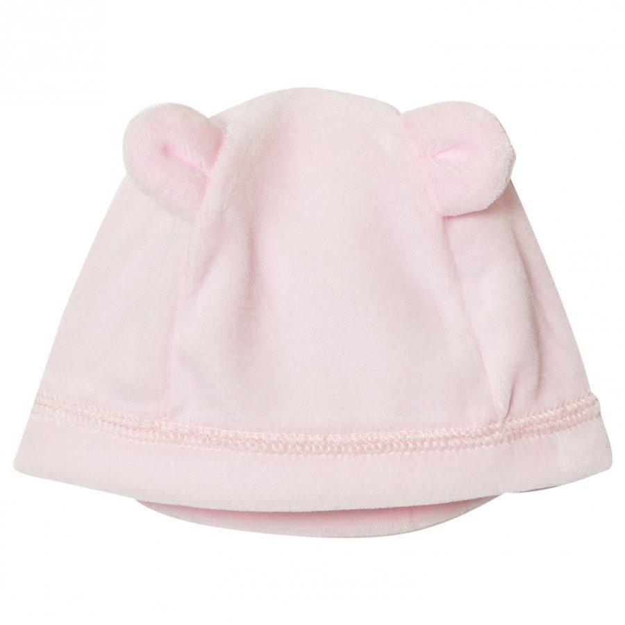 Petit Bateau Pink Velour Beanie Pipo