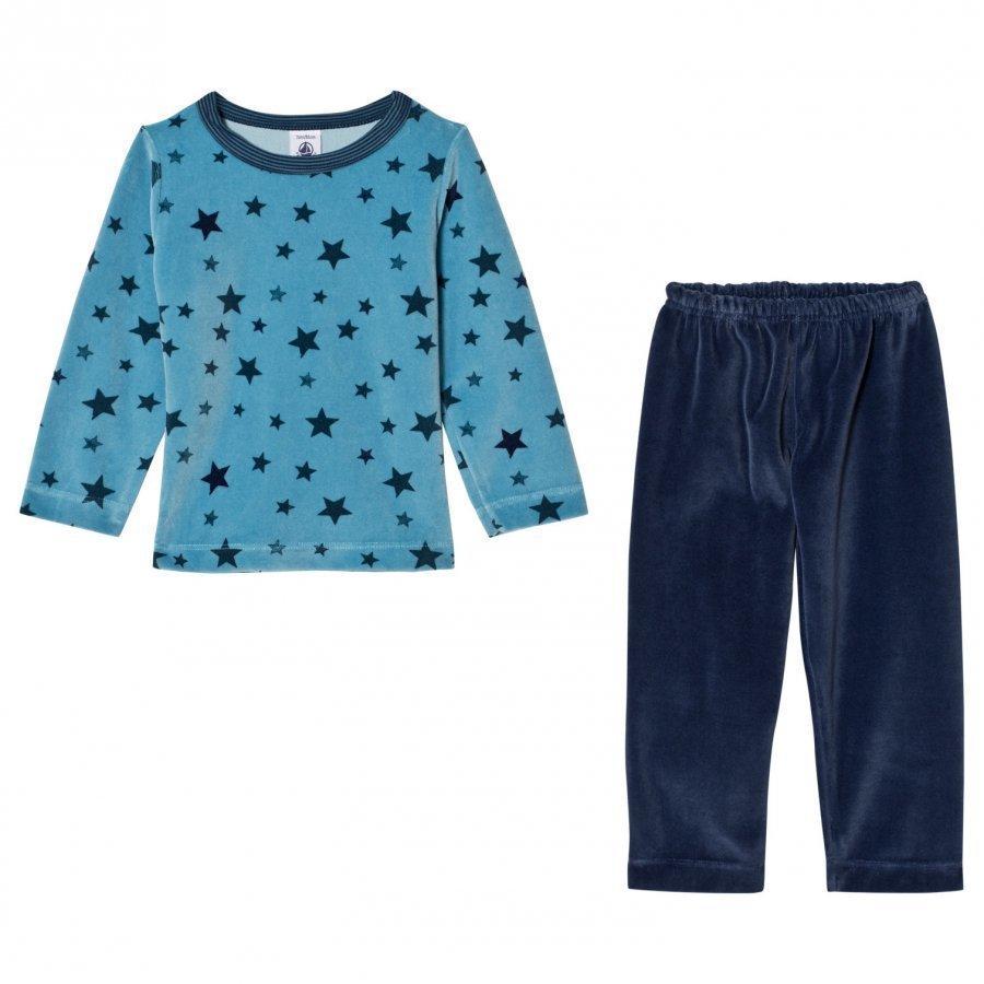 Petit Bateau Pyjama Blue Yöpuku