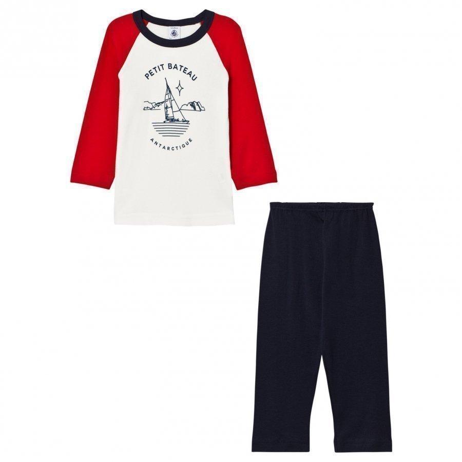 Petit Bateau Pyjama Marine Yöpuku