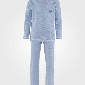 Petit Bateau Pyjamas Blue Stripes Yöpuku