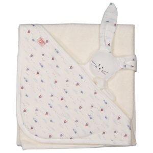 Petit Bateau Pyyhe Ja Lelu Lahjapakkauksessa