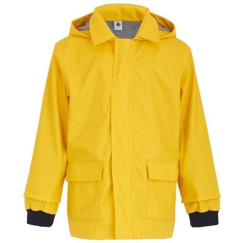 Petit Bateau Rainjacket Ciré Yellow Sadetakki