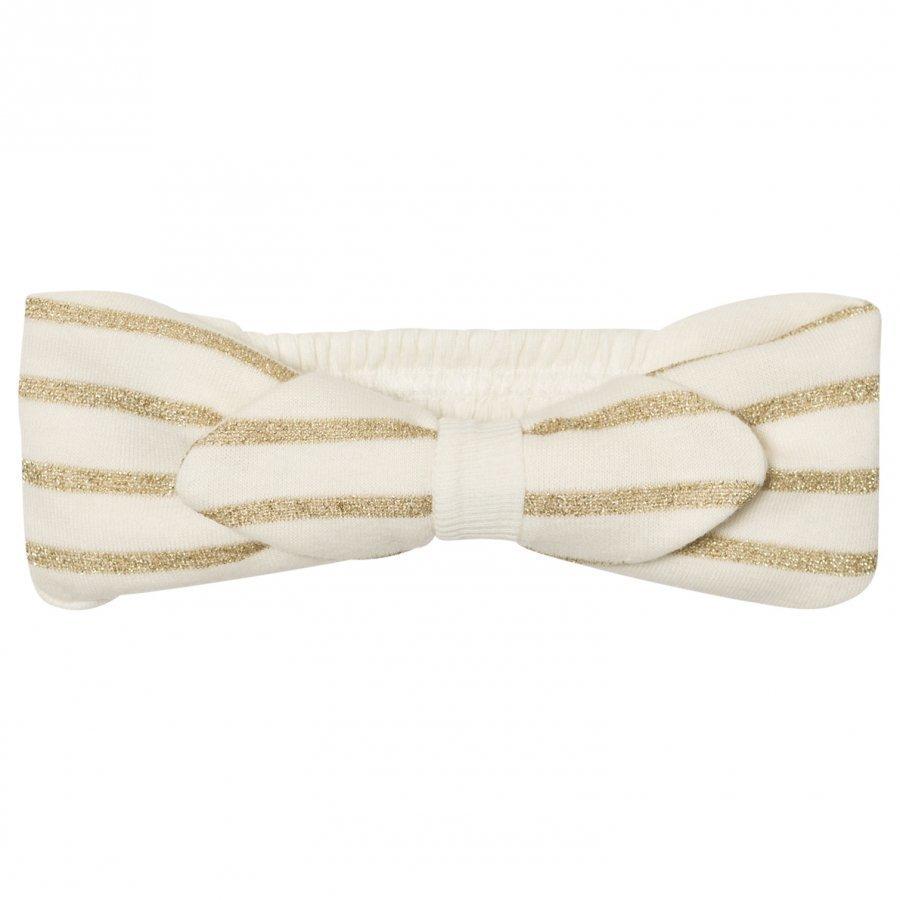 Petit Bateau Stripe Headband Creme Hiusnauha