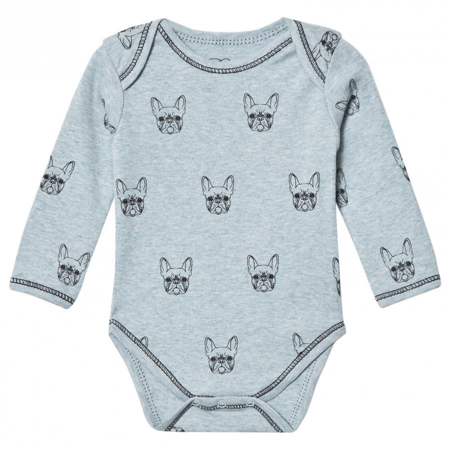 Petit By Sofie Schnoor Baby Body Long Sleeve Bulldog Body