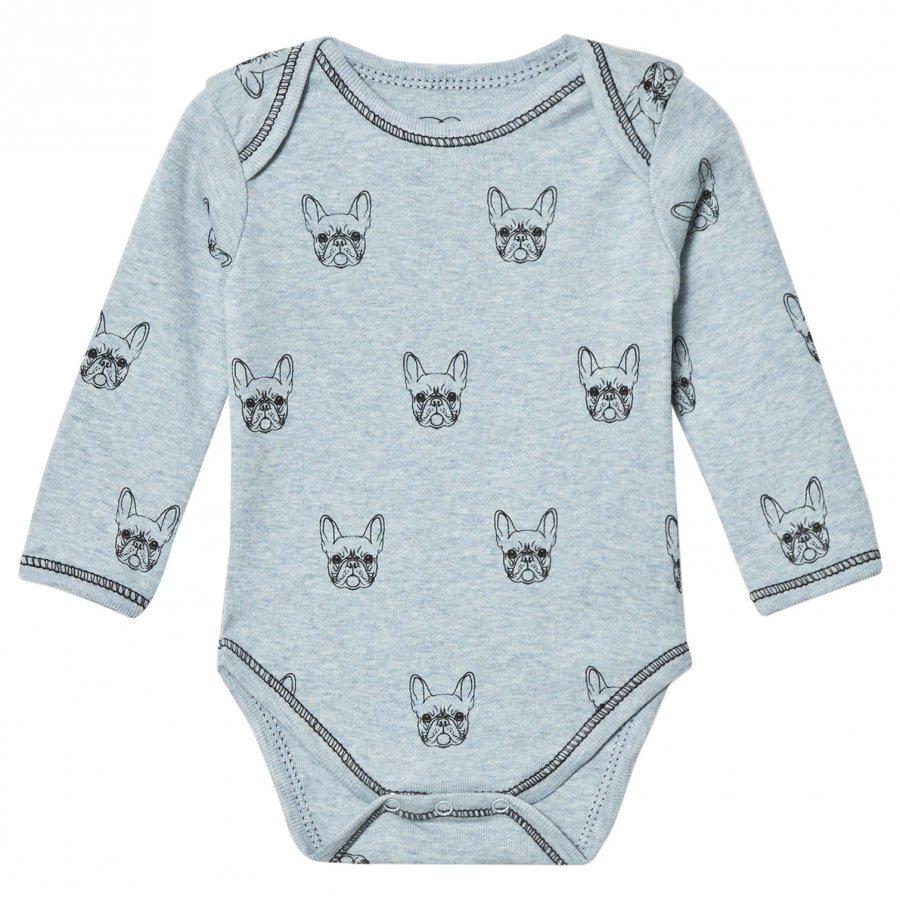 Petit By Sofie Schnoor Baby Body Long Sleeve Bulldog Body