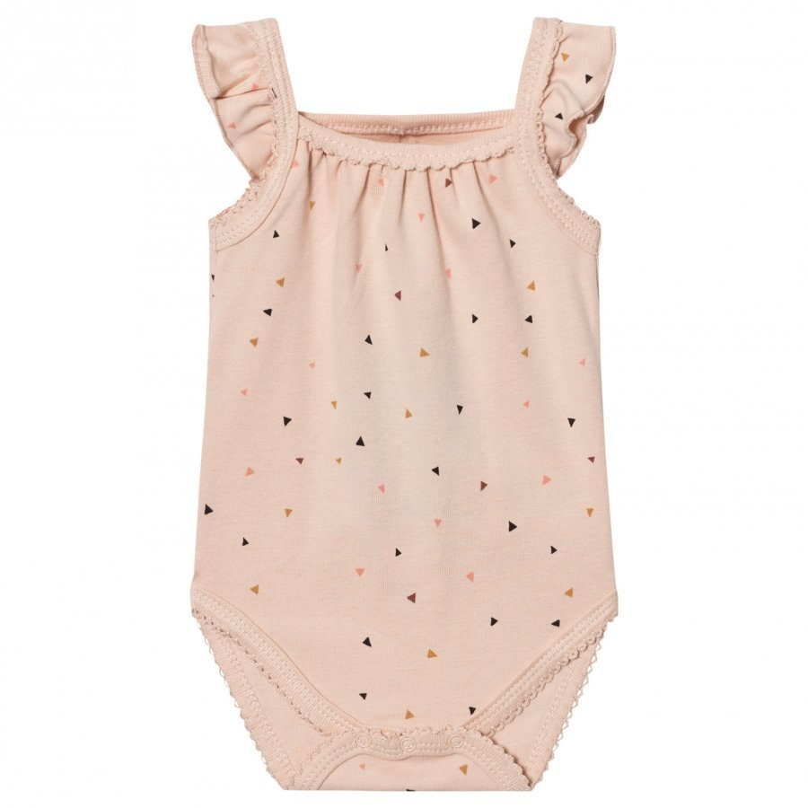 Petit By Sofie Schnoor Baby Body Triangle Print Pink Body