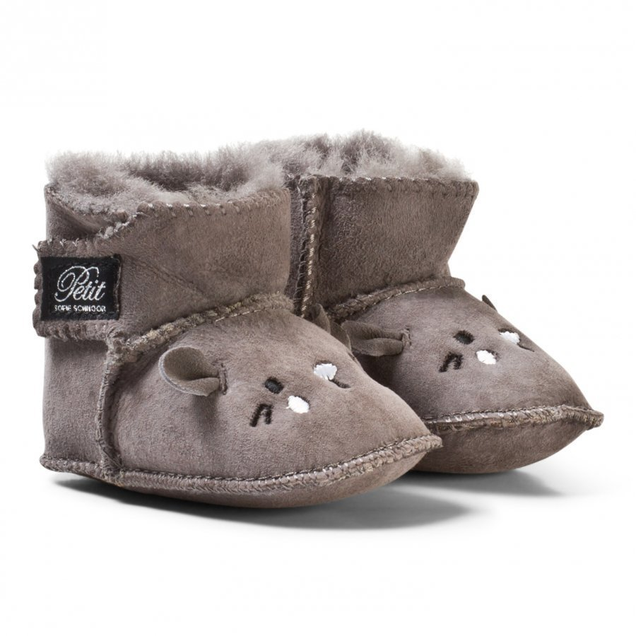 Petit By Sofie Schnoor Boot Baby Mouse Grey Talvisaappaat