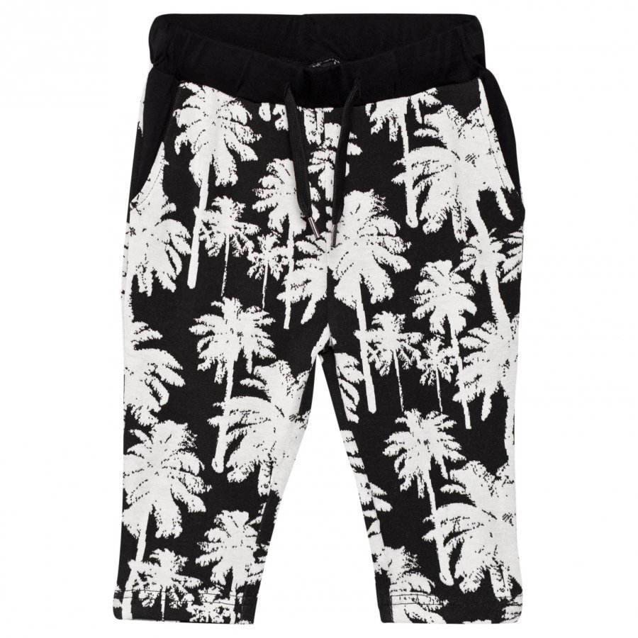 Petit By Sofie Schnoor Pants Black/White Housut