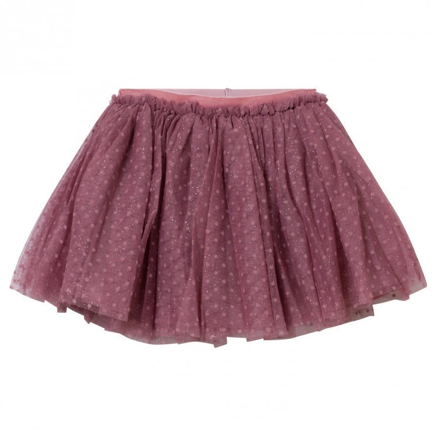 Petit By Sofie Schnoor Skirt Dusty Rose Lyhyt Hame