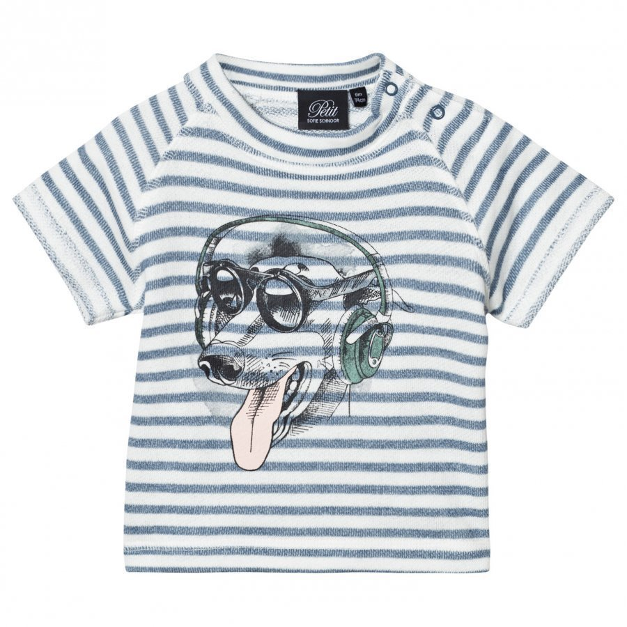 Petit By Sofie Schnoor T-Shirt Striped T-Paita