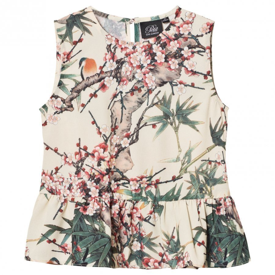 Petit By Sofie Schnoor Top Bird Print Pusero