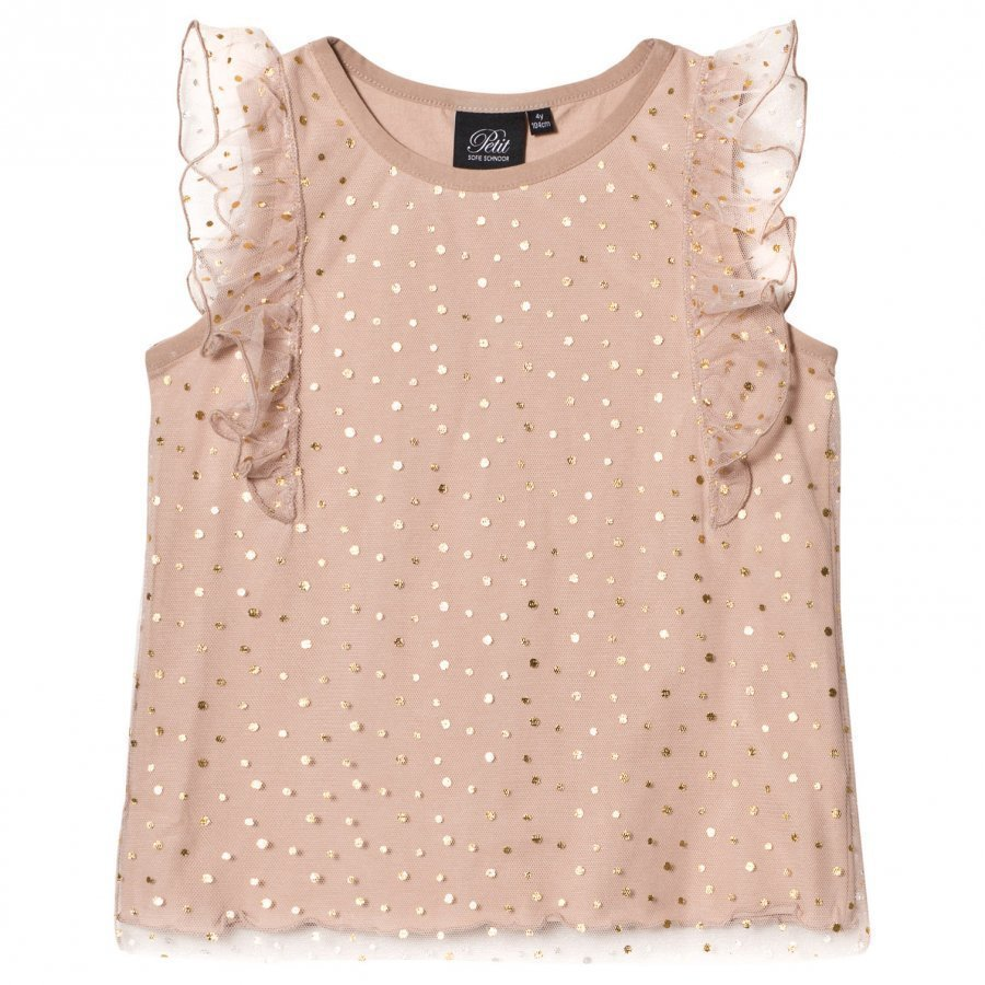 Petit By Sofie Schnoor Top Copper Dot Pusero