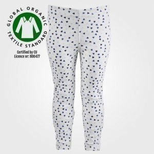 Petit Monster Leggings Blå Triangel Legginsit