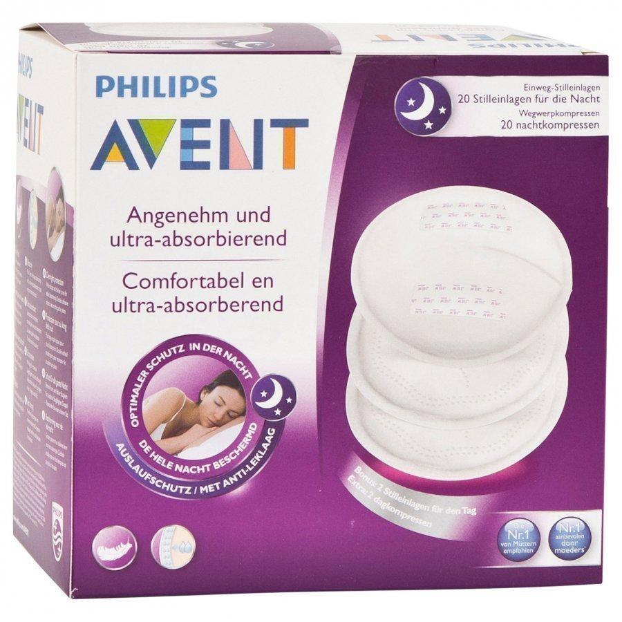 Philips Avent Ammeinnlegg Natt 20 Stk Imetystarvike