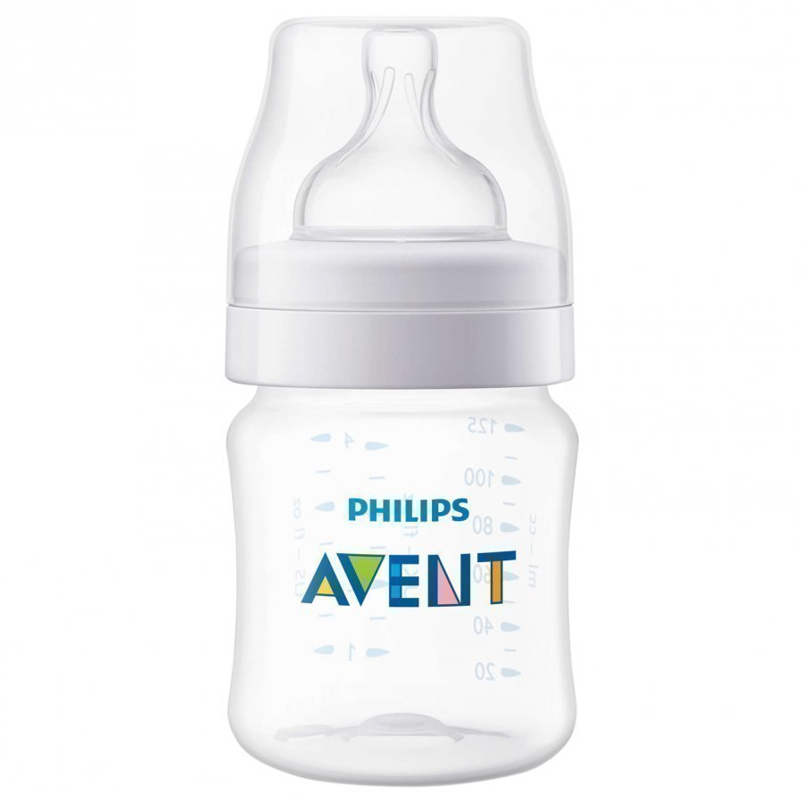 Philips Avent Classic+ Baby Bottle 125 Ml 4 Oz Tuttipullo