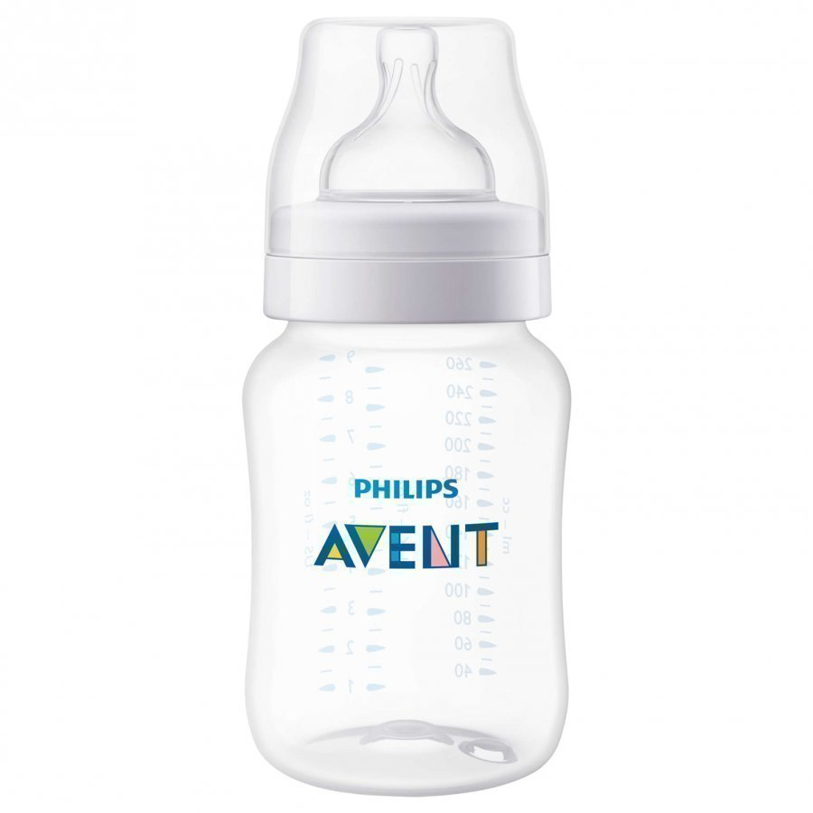 Philips Avent Classic+ Baby Bottle 260 Ml 9 Oz 1m+ Tuttipullo