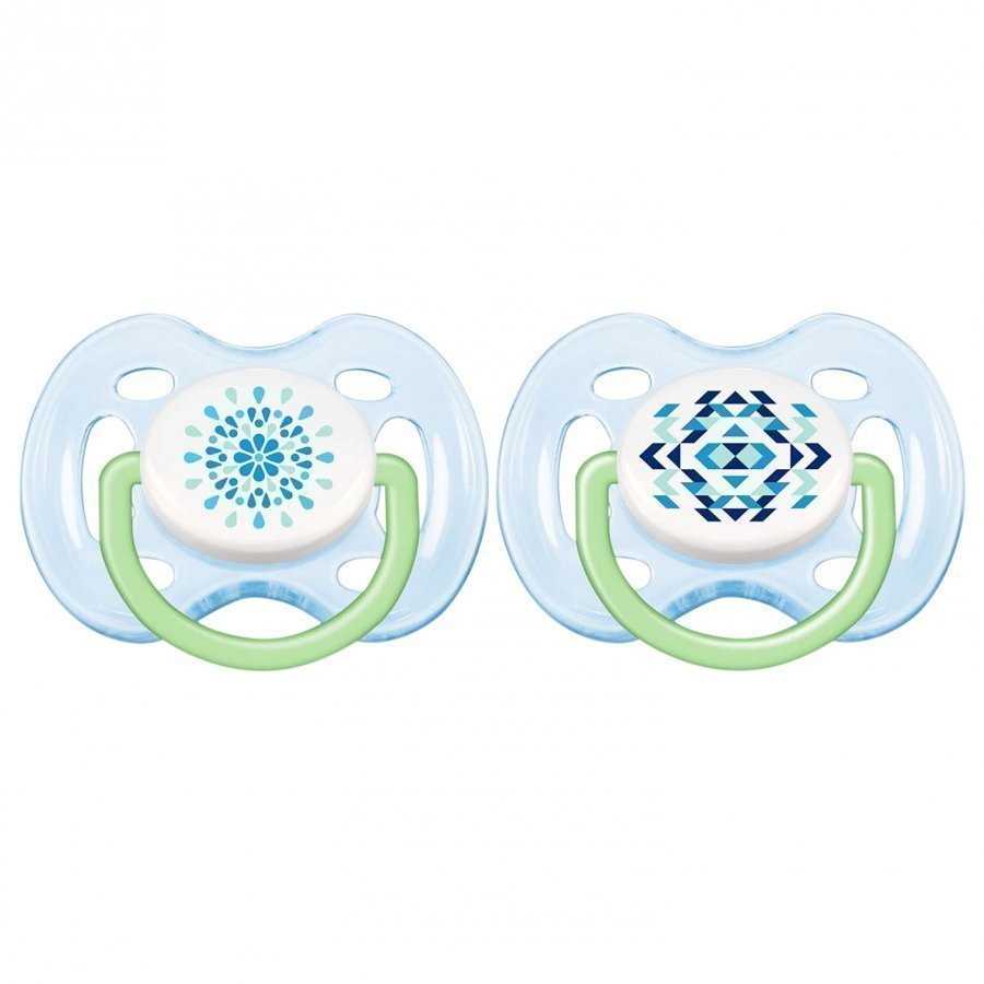 Philips Avent Freeflow Soother 0-6m 2 Pack Blue Tutti