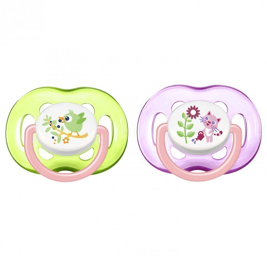 Philips Avent Freeflow Soother 18m+ 2 Pack Tutti