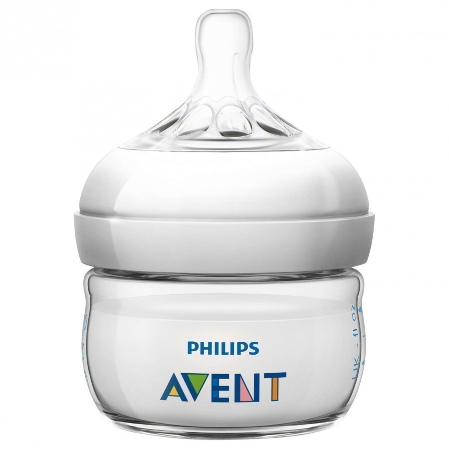 Philips Avent Natural Feeding Bottle 60 Ml 2 Oz Tuttipullo