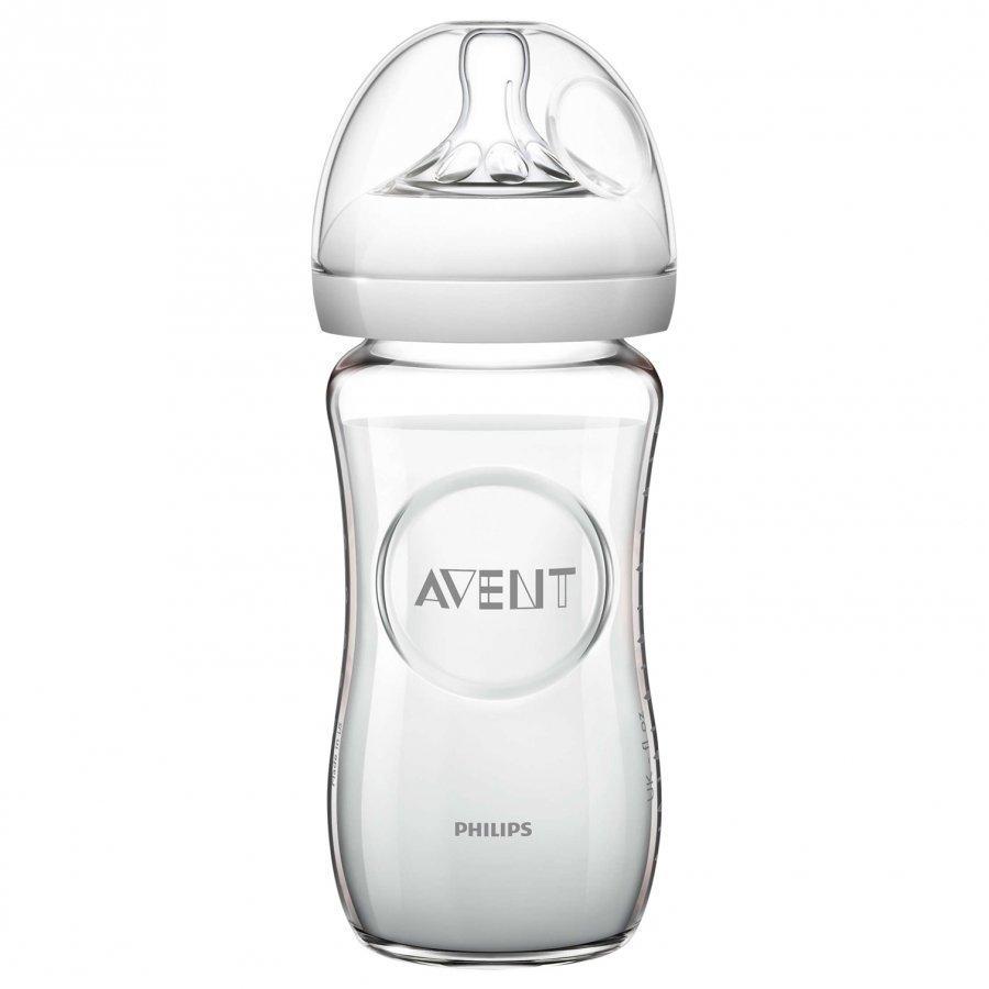 Philips Avent Natural Glass Feeding Bottle 240 Ml 8 Oz 0m+ Tuttipullo