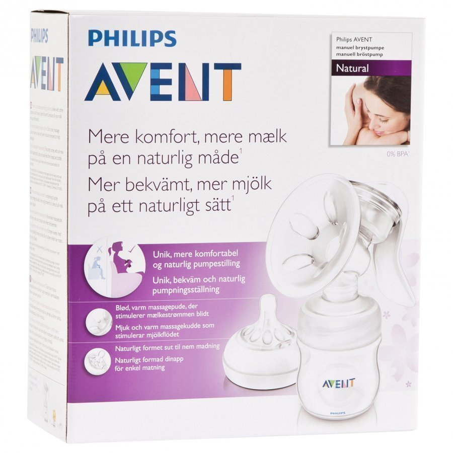 Philips Avent Natural Manual Breast Pump Rintapumppu
