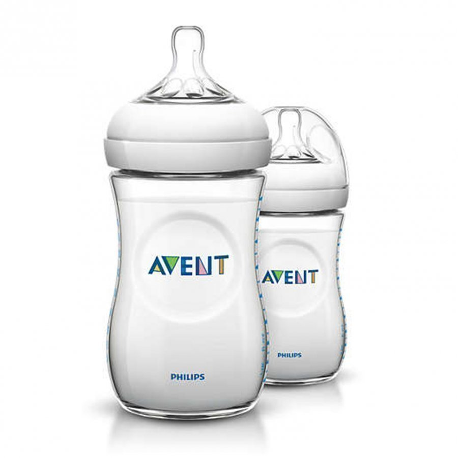 Philips Avent Natural Tåteflaske 2pk 260ml Tuttipullo