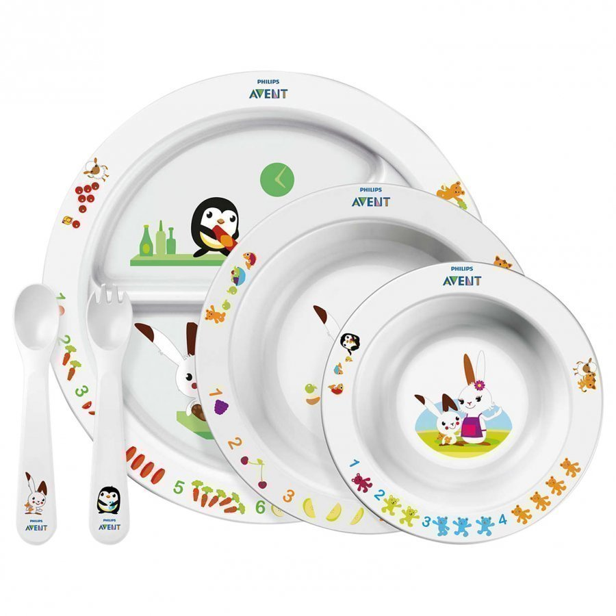 Philips Avent Toodler Mealtime Set 6m+ Ruokailusetti