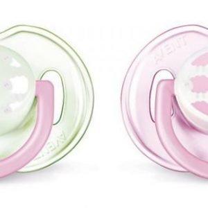 Philips Avent Tutti Mode 0-6 mån 2-pack Vihreä/Vaaleanpunainen