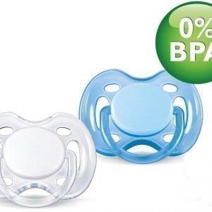Philips Avent Tutti Sensitive 0-6 kk 2 kpl Sininen/valkoinen
