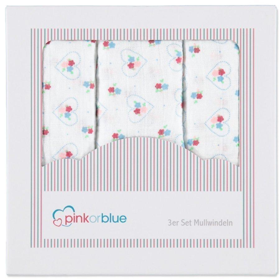 Pink Or Blue Harsoliina 3 Kpl Flower Power
