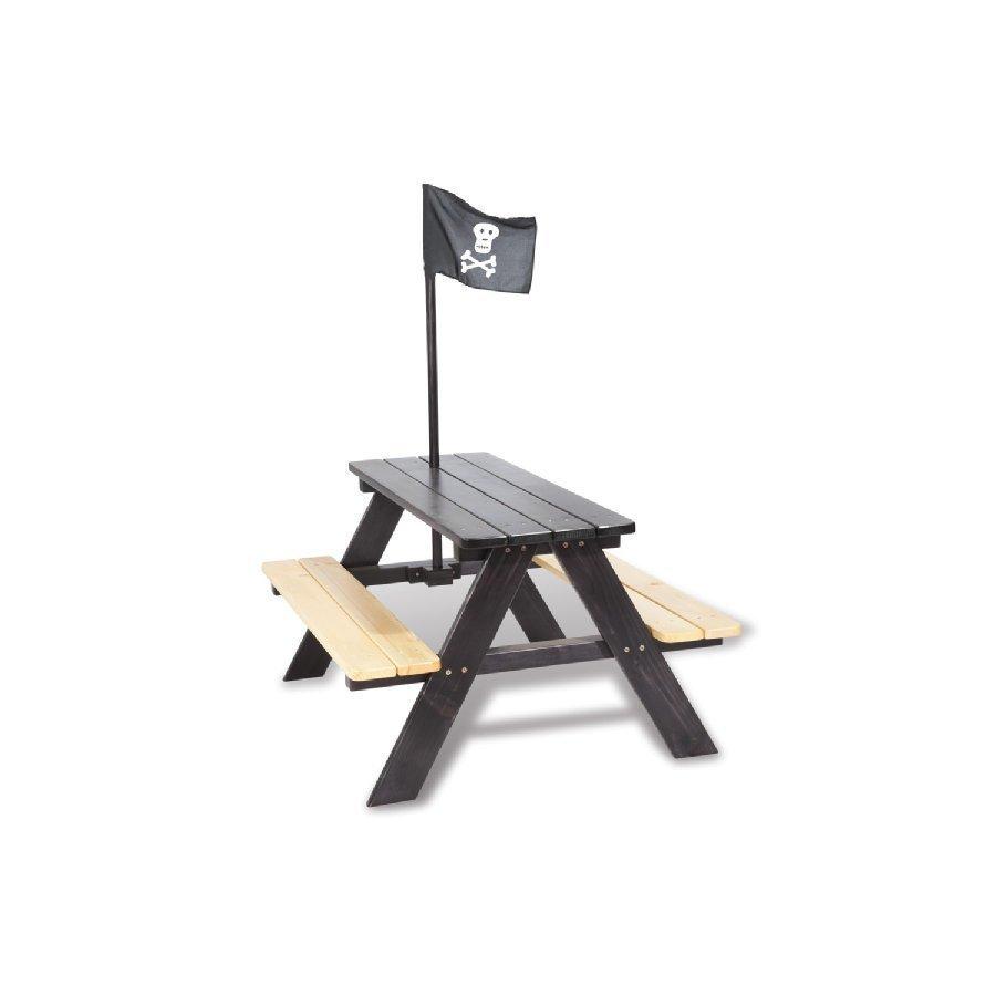Pinolino Lastenpiknikpöytä Nicki Neljälle Piraatti