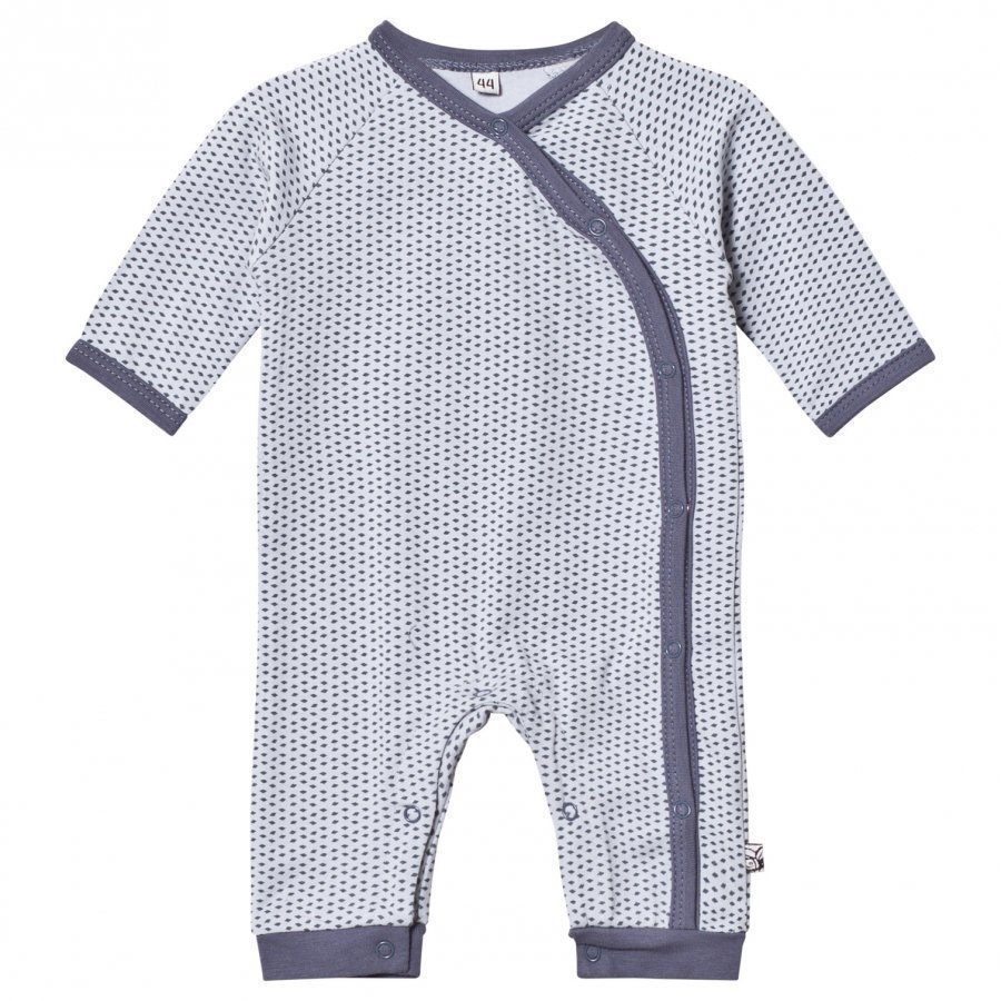 Pippi Wrap Baby One-Piece Pearl Blue Body