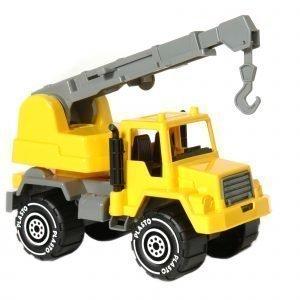 Plasto Nosturiauto Keltainen 30 Cm