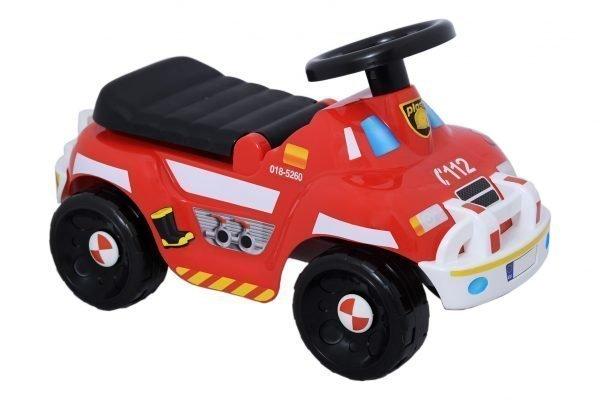 Plasto Offroad Paloauto Potkuauto Punainen