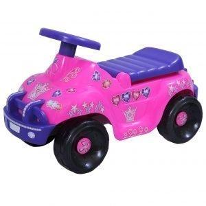Plasto Offroad Prinsessa Potkuauto Pinkki