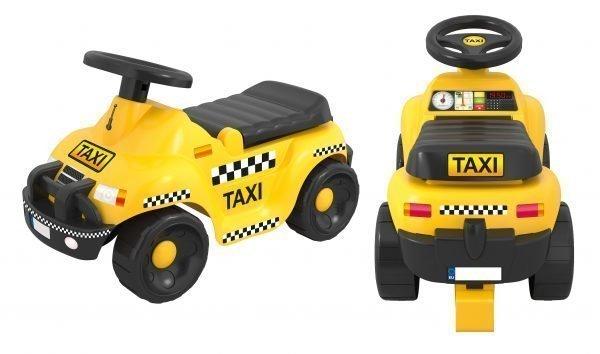 Plasto Offroad Taxi Potkuauto Keltainen
