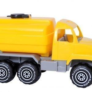 Plasto Tankkiauto Keltainen 25 Cm