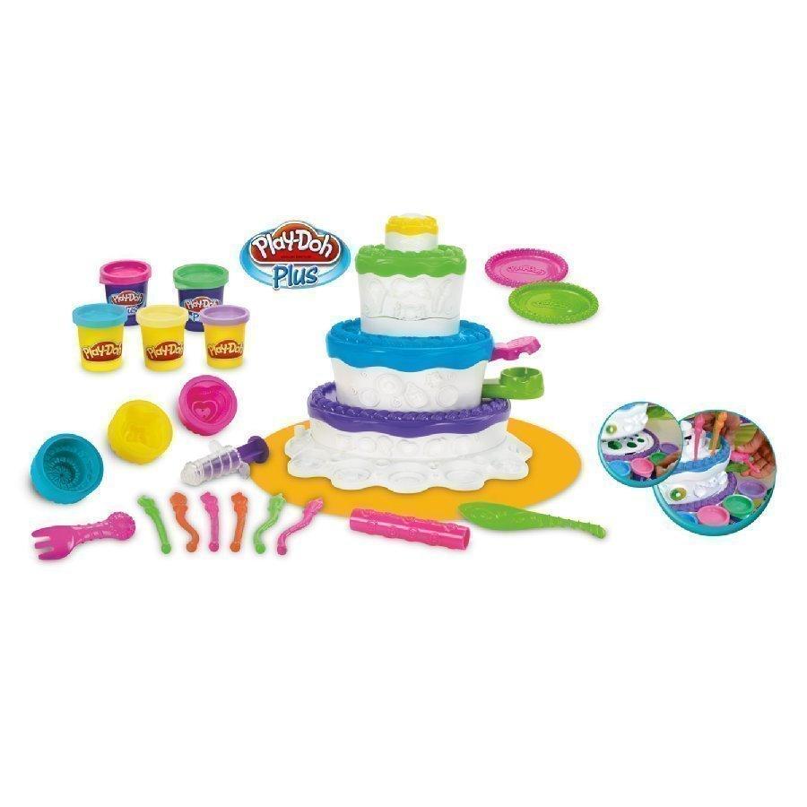 Play Doh Party Muovailuvahakakku