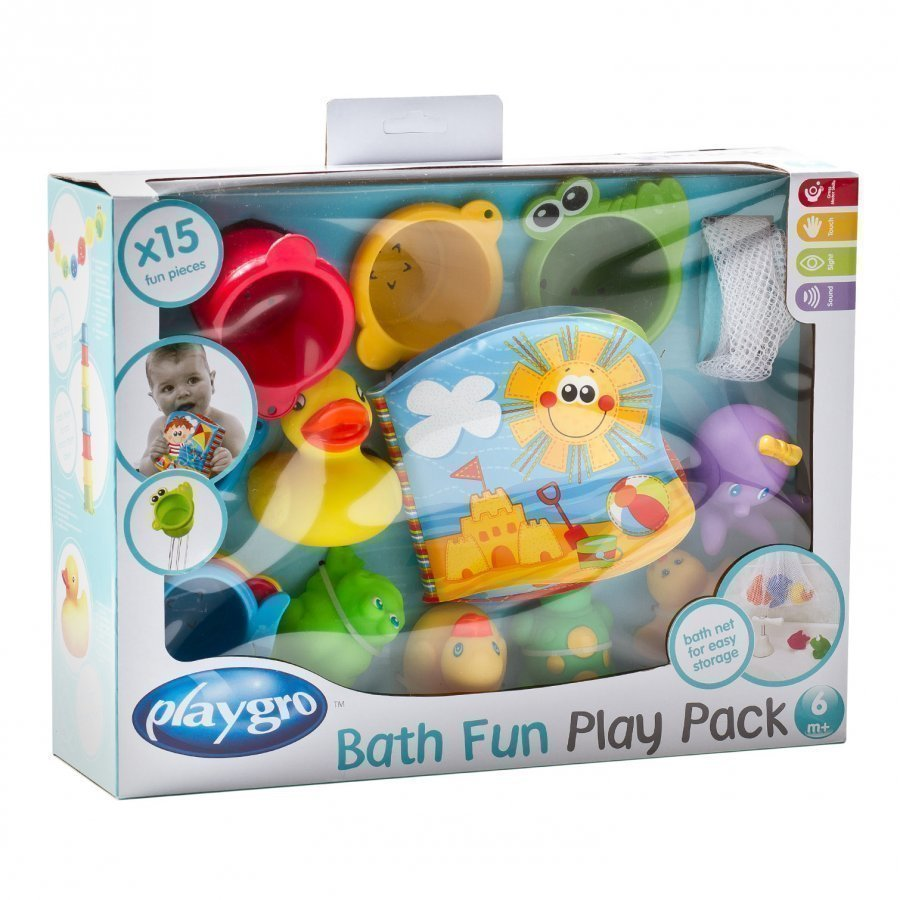 Playgro Bath Fun Play Pack Kylpylelu